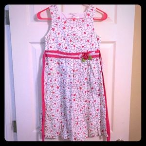 Girls size 12 spring dress